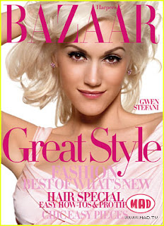 gwen stefani harpers bazaar Gwen Sefani has a Step daughter