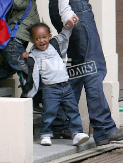 zahara jolie pitt Latest Brad Pitt and Babies Photos