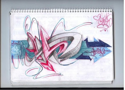 sketch graffiti, alphabet graffiti, graffiti alphabet