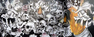 Graffiti art, art, graffiti stencils