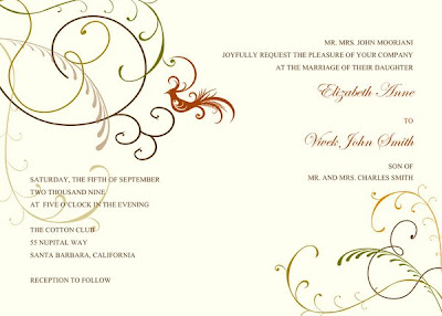 exotic wedding invitations