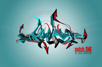 digital graffiti, graffiti arrow