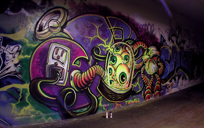 graffiti art, graffiti letters