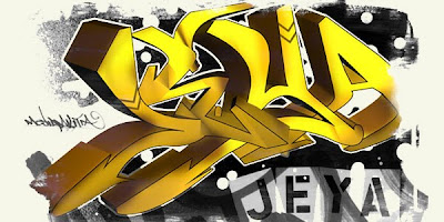 graffiti fonts, graffiti letters