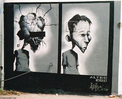 graffiti stencil, graffiti art, art