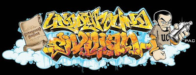 graffiti alphabet, graffiti letters, graffiti arrow