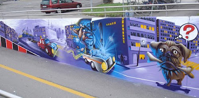 graffiti art, graffiti murals, art