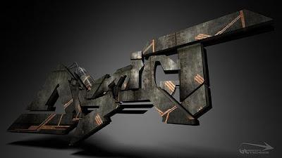 graffiti alphabet, graffiti letters, 3d graffiti alphabet