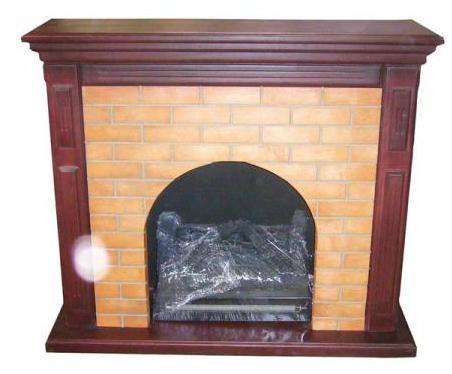 Dise o arte y manualidades todo para decoraciones - Chimeneas de madera decorativas ...