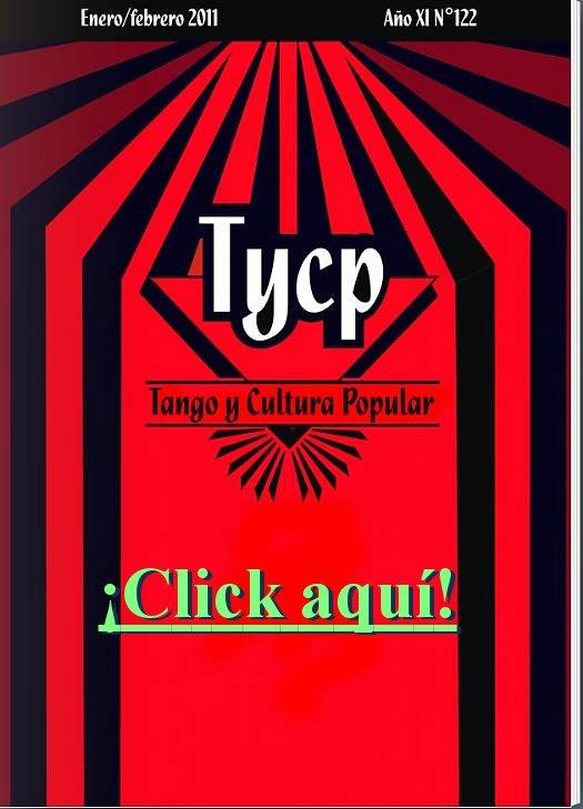 Tango y Cultura Popular N° 122