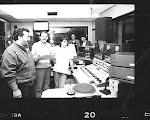 En el control de LU6 Emisora Atlántica