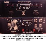 AMPLIFICADORES GP (PROFISSIONAL)