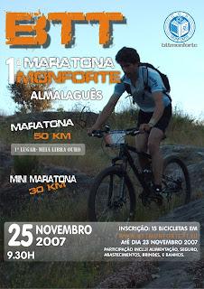 1ª Maratona de Monforte/Coimbra/25 Novembro 07
