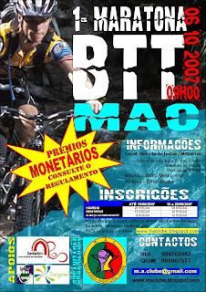 1ª Maratona BTT MAC - Moçarria (Santarém) - 06 Outubro 2007