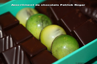 Assortiment de chocolats Patrick Roger