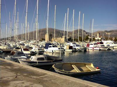 La marina de Trogir, près de Split
