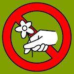 Cueillette interdite