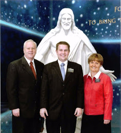 Elder Stevenson with President and Sister Christison