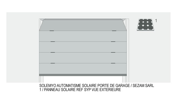 sezam portes automatiques automatisme solaire porte de garage. Black Bedroom Furniture Sets. Home Design Ideas