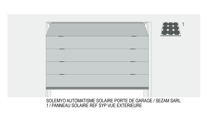 Sezam portes automatiques automatisme solaire porte de garage for Automatisme porte de garage nice