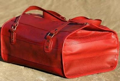 reciclado, bolsos, mangueras