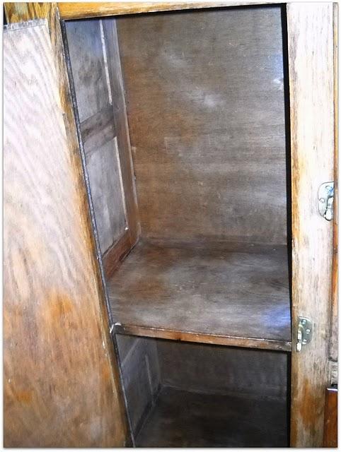 restauración, armario, pintar, lijar, antes y después