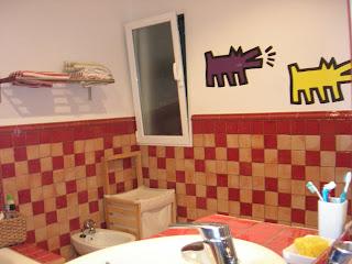 vinilos, baño, decoración, diseño