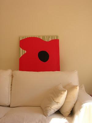 ikea, telas, marco, reciclado, cuadro, decoración