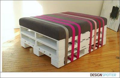 Hecho a mano/Handmade, Reciclado, , palés, asiento