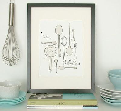 cuadros, cocina, Eva Juliet