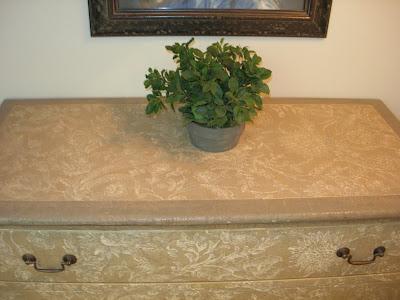 restauración, cómoda restaurada