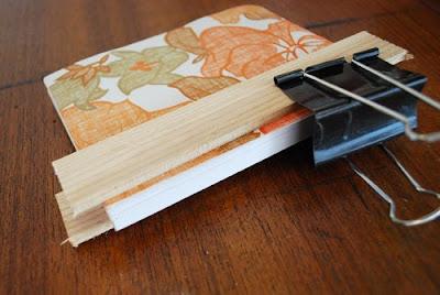 Tutorial: Como forrar un cuaderno de notas, tapas