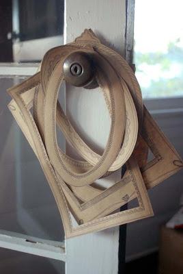 Tutorial: Como hacer marcos con papel de embalar