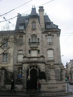 Art Nouveau , nancy, edificios