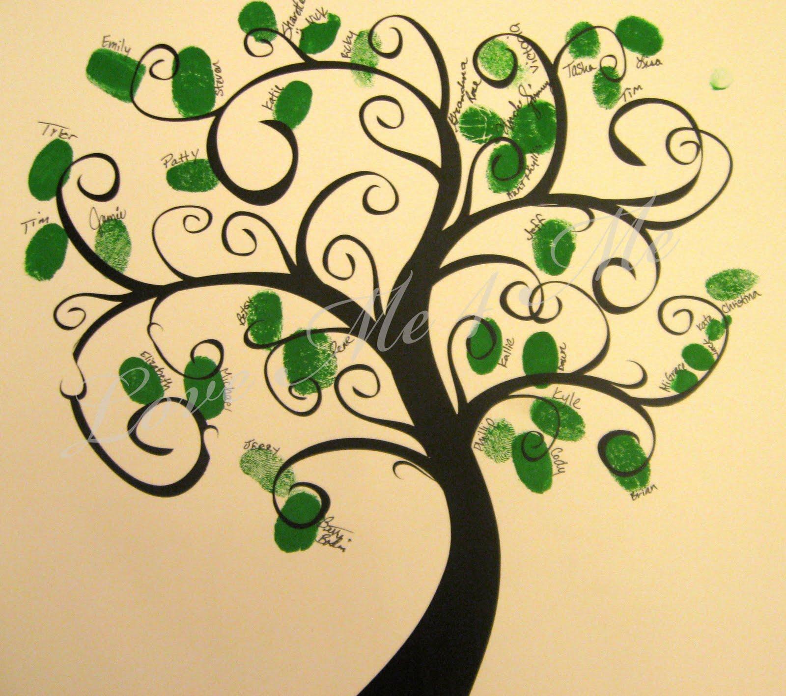 Simple blank family tree family tree look better