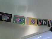 Cartões feitas com figuras  e recortes de revistas velhas!!