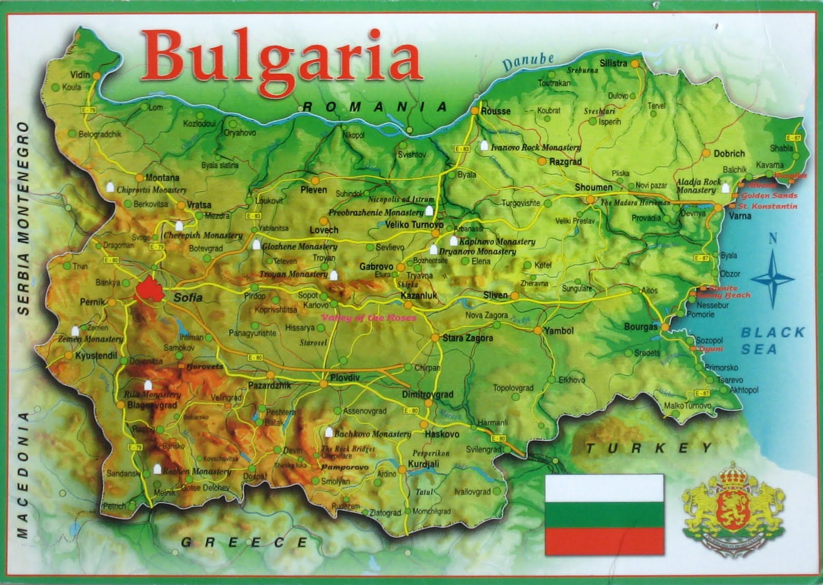 Image result for map bulgaria