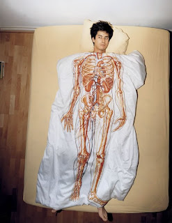 anatomical bed cover