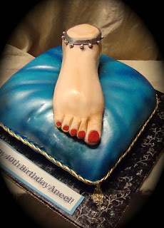 foot fetish cake