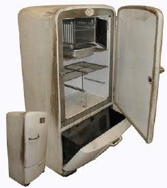 1950 gibson refrigerator parts