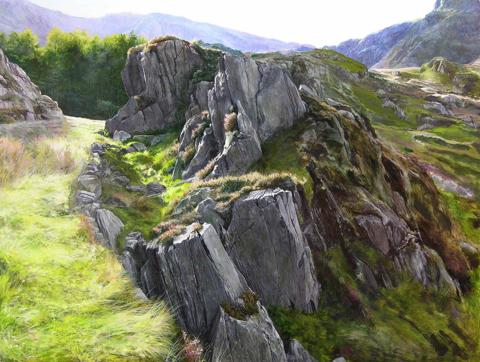 Harry Robertson Artist Welsh Paintings