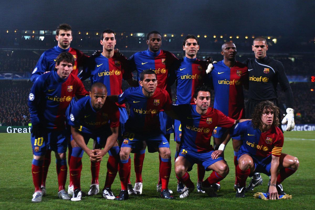 fc barcelona meet the team