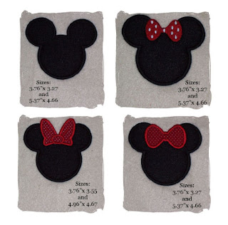 DESIGN DOWNLOAD EMBROIDERY MICKEY