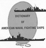 site The Dictionary of American Naval Fighting Ships