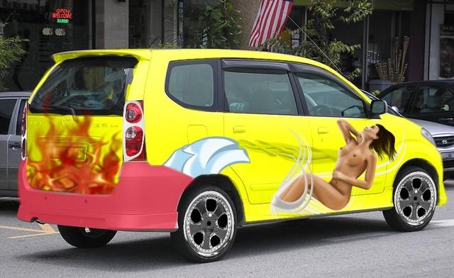 wallpaper the best car: Xenia Car Modification