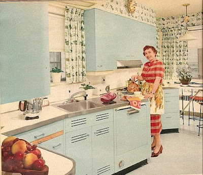 Chas 39 compilation miss retro modern looks at the atomic for 50 s style kitchen designs