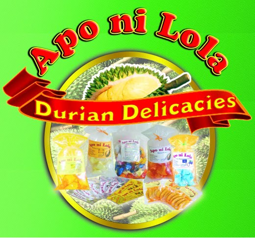 apo ni lola a durian If you want a taste of davao city, there is no better place to go but at apo ni lola durian delicacies this famous durian by-products producer has been the favorite pasalubong center here for years because of its delicious and.