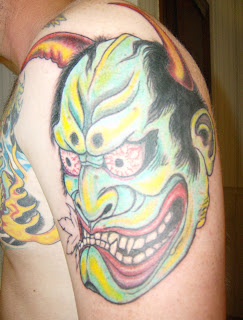 Honi Mask tattoo