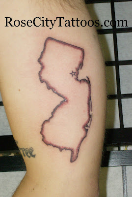new jersey tattoo