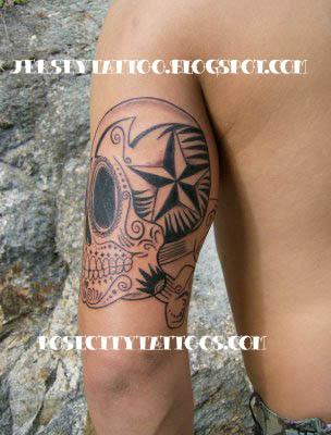 sugarskull tattoo
